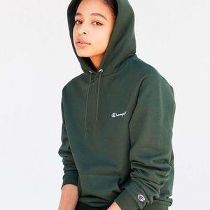 Champion pullover hooded sweatshirt